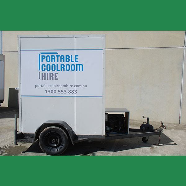 Medium Sized Portable Coolroom Hire