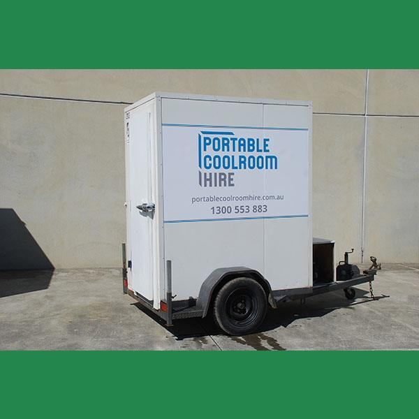 Medium Sized Portable Coolroom Hire