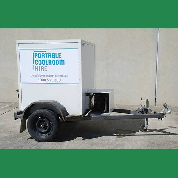 Small Portable Coolroom Hire